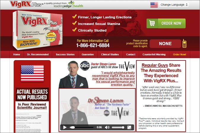 VigRX Plus Active Ingredient