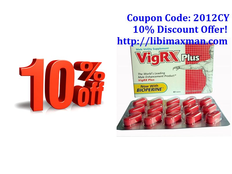Vigrx plus discount coupons